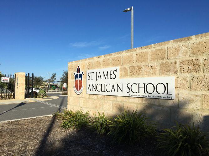 St James Anglican School.