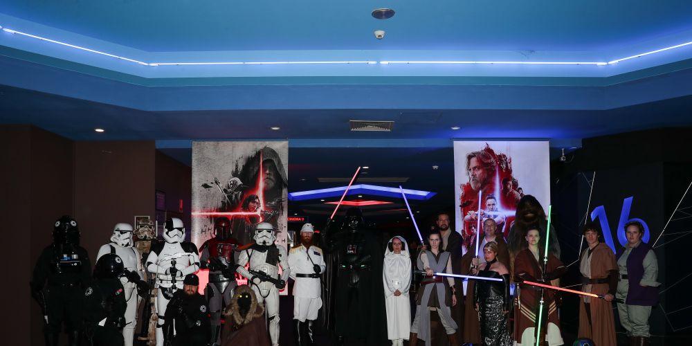 Star Wars: The Last Jedi premiere in Innaloo. Pictures: John Koh Photography