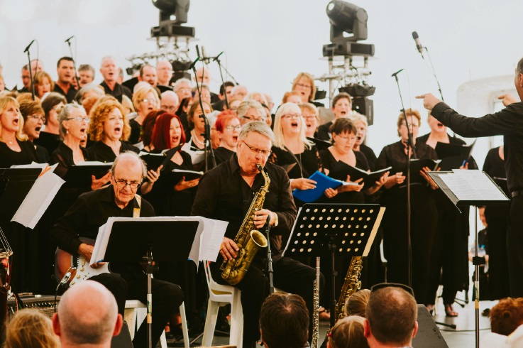 The  community choral project takes centre stage at the Joondalup Festival.
