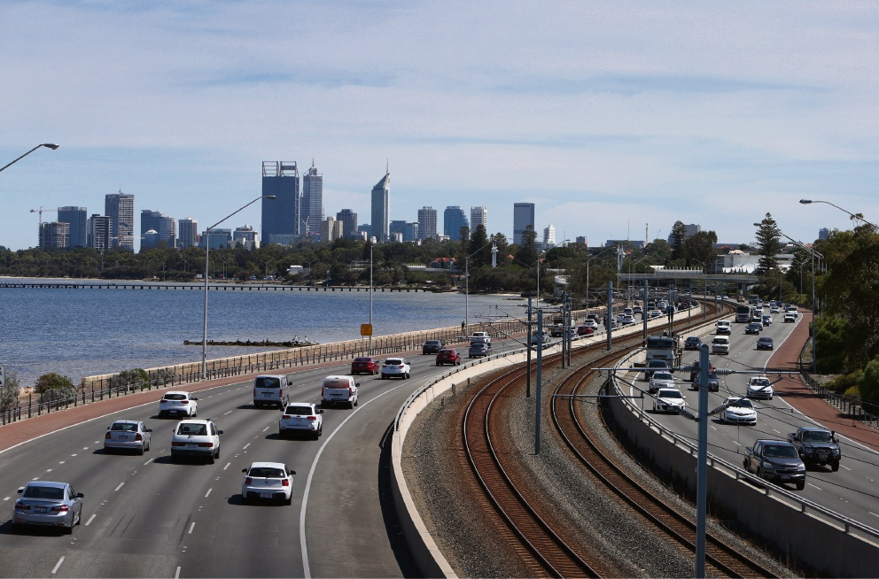 The city's first 'smart freeway' is expected to open in early 2020, with three alliances invited to submit proposals for the $47 million contract that will change the emergency slip of the Kwinana Freeway northbound into a full-time lane.