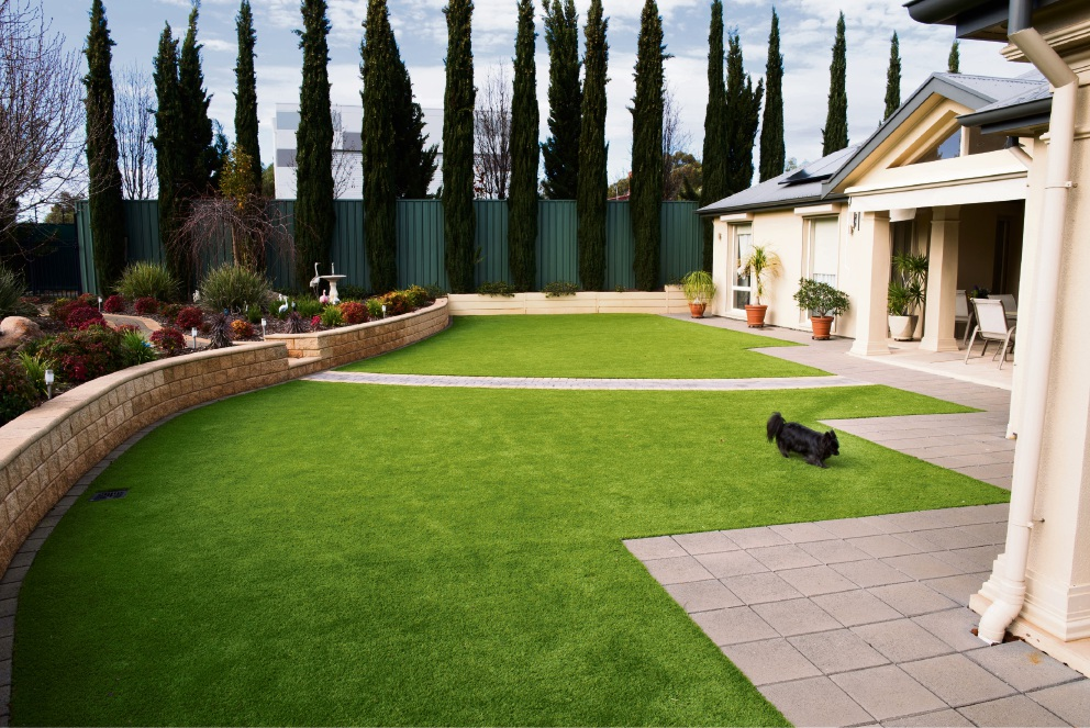 Artificial lawn from Australian Outdoor Living.
