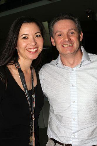 Raelene Endersby and Nick Gottardo