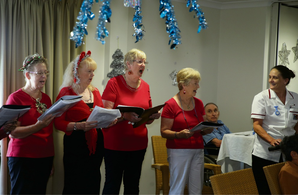 Yanchep's Bethanie Beachside holds annual Xmas parties