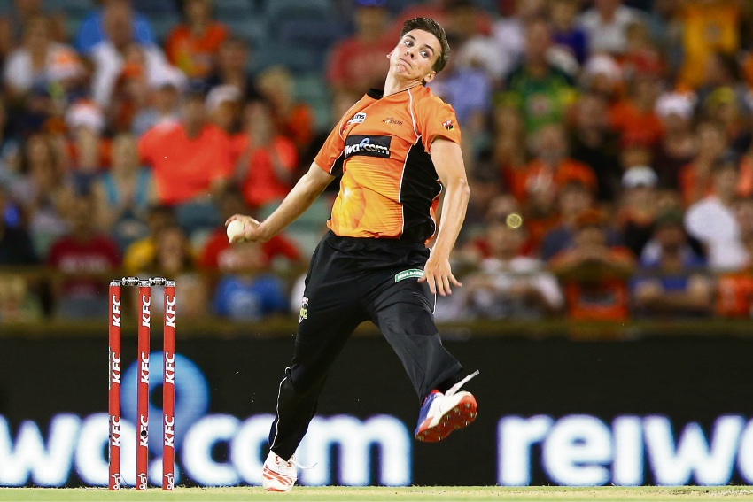 Perth Scorchers paceman Jhye Richardson. Paul Kane/Stringer