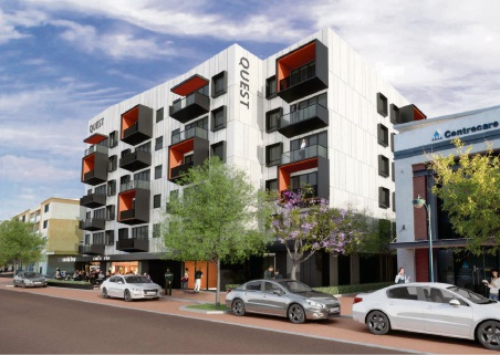 An artist's impression of the proposed hotel on Boas Avenue.