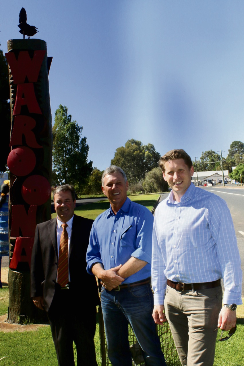 Upgrades to South West Hwy near Waroona