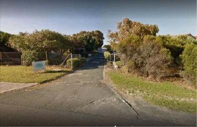 Rockingham's Point Peron camp entrance (Google Maps image).