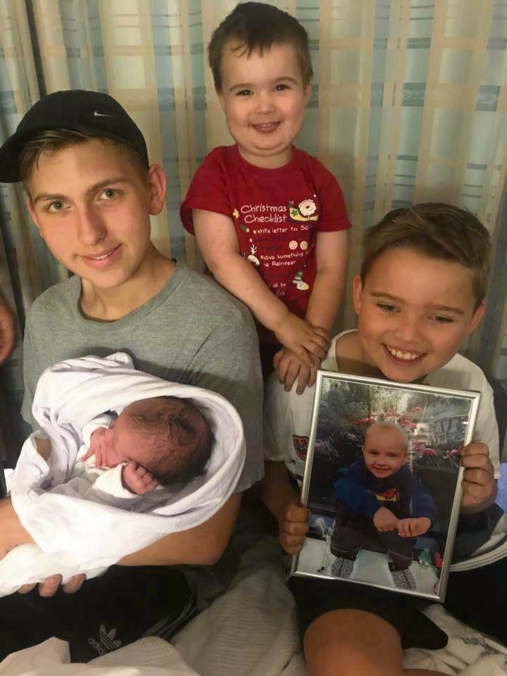 Parents of Aveley boy Kai Nell welcome their 'rainbow' baby