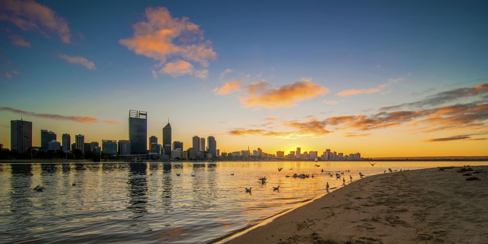 Perth is set for a warm New Year. Picture: Getty Images