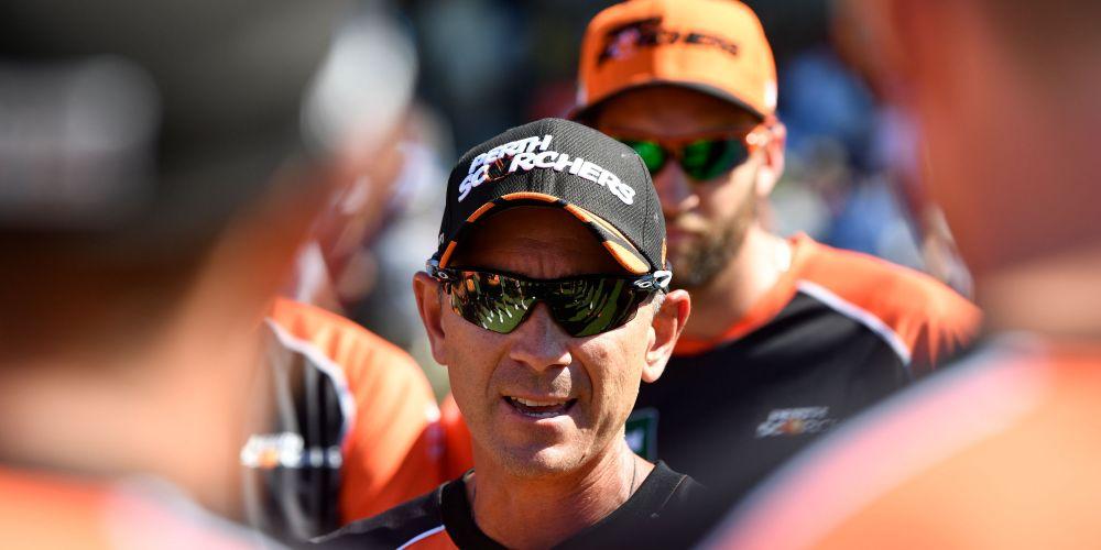 Justin Langer. Picture: Stefan Gosatti/Cricket Australia/Getty Images
