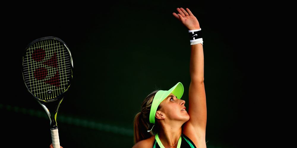Belinda Bencic of Switzerland. Picture: Clive Brunskill/Getty Images