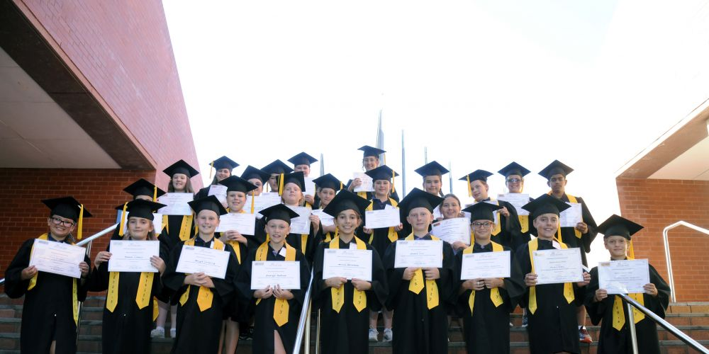 Graduates of the Children's University ECU program.