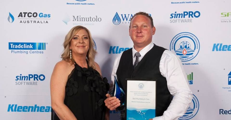 Rockingham plumbing business wins major industry award for second year in a row
