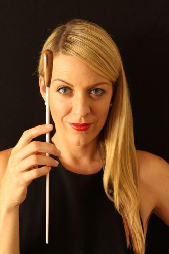 Perth Symphony Orchestra's Jessica Gethin.
