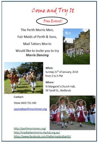 Come and Try It – Morris Dancing