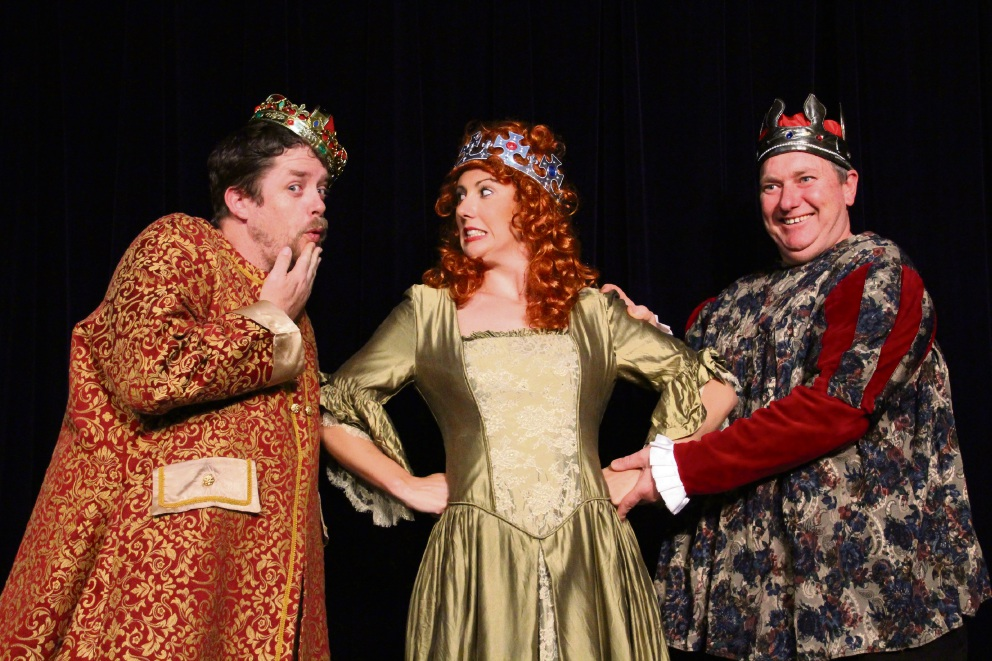 A scene from Once Upon a Mattress.