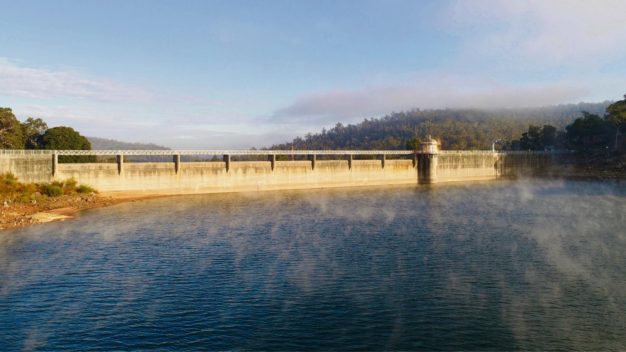 Mundaring Weir.