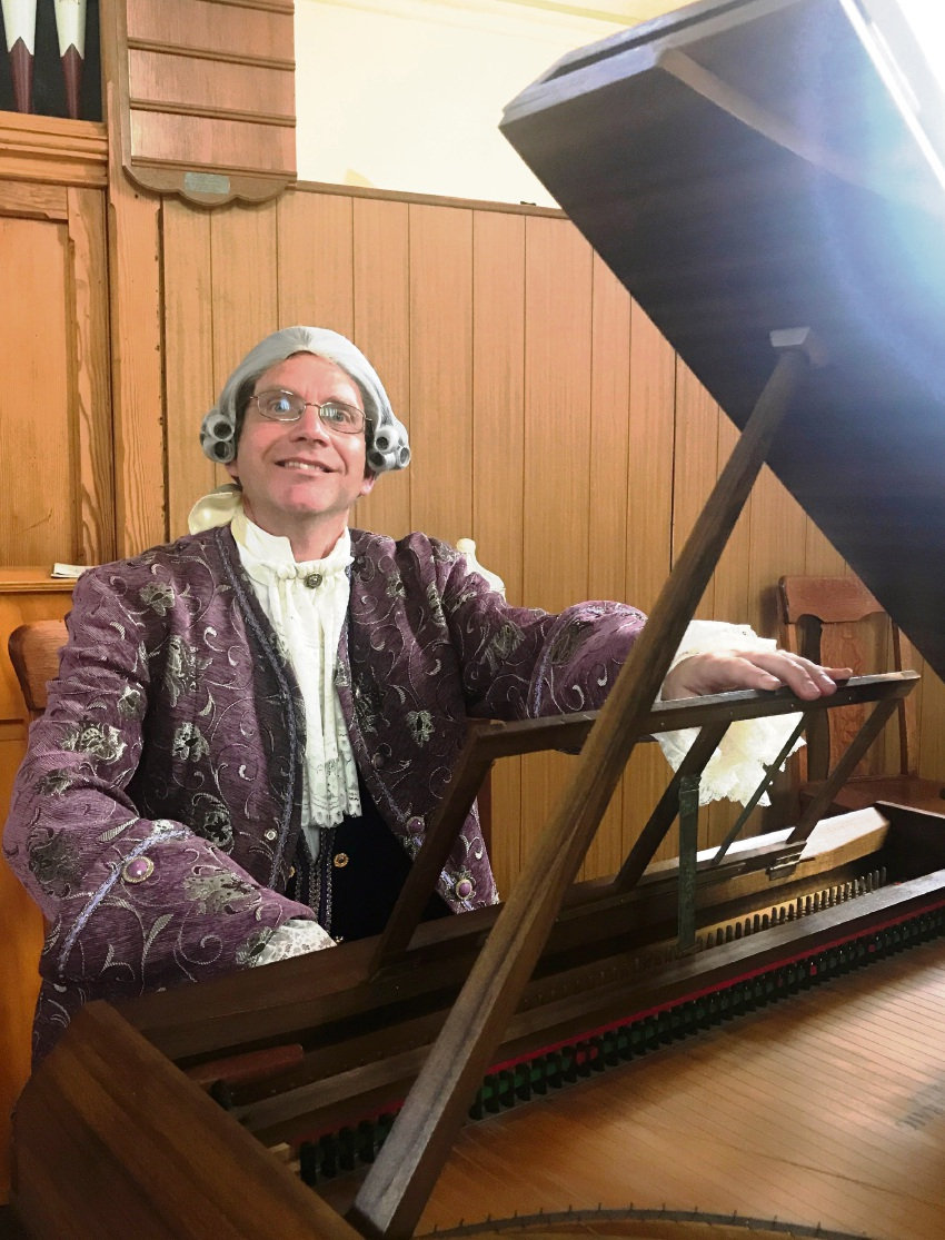 John Hardy will perform on the spinet at the Kalamunda Modern art gallery concert.