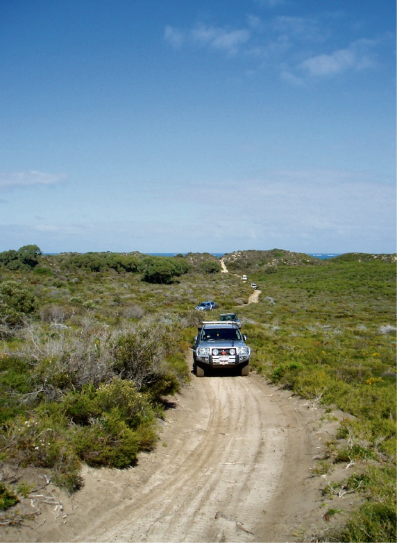 Tending the Tracks event to educate four-wheel drive enthusiasts on protecting the environment