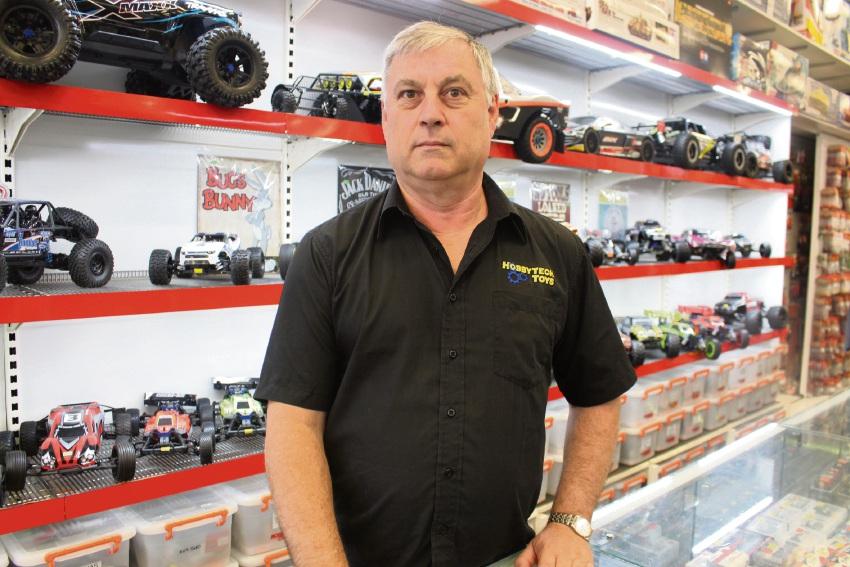 Hobbytech Toys owner Craig Hepburn.