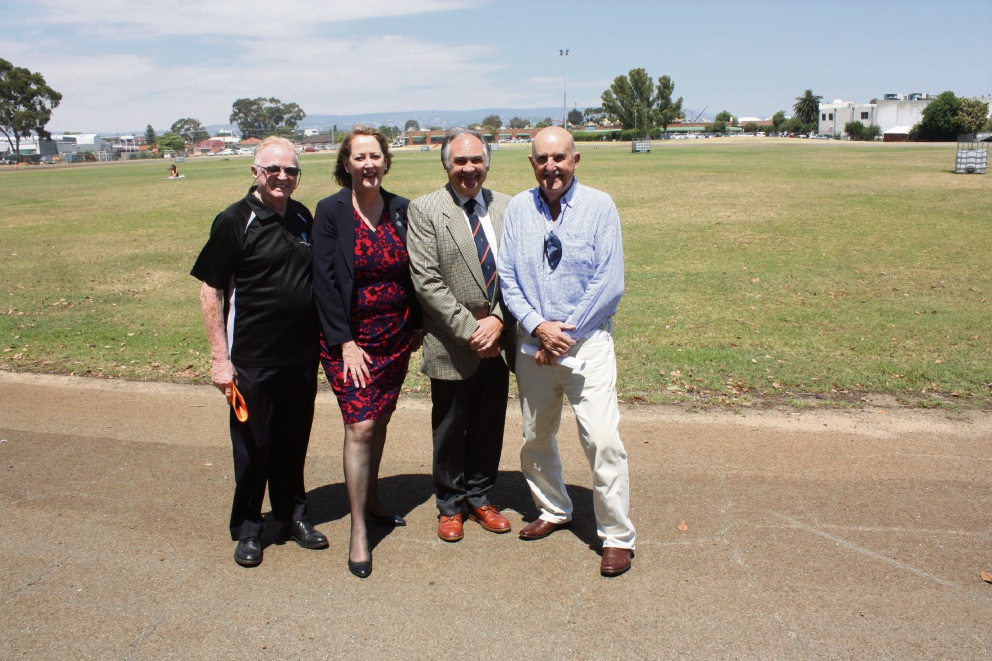 Kevin Gartrell, Michelle Roberts, Dennis Yagmich and Tony Mann are joining the chorus calling for a new design that keeps the Midland Oval in the city's planned redevelopment.