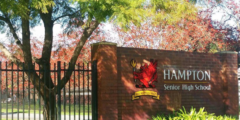 Hampton Senior High School.