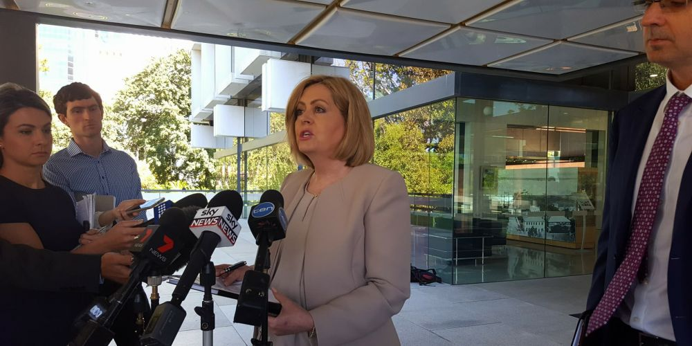 City of Perth Lord Mayor Lisa Scaffidi. Picture: Julian Wright