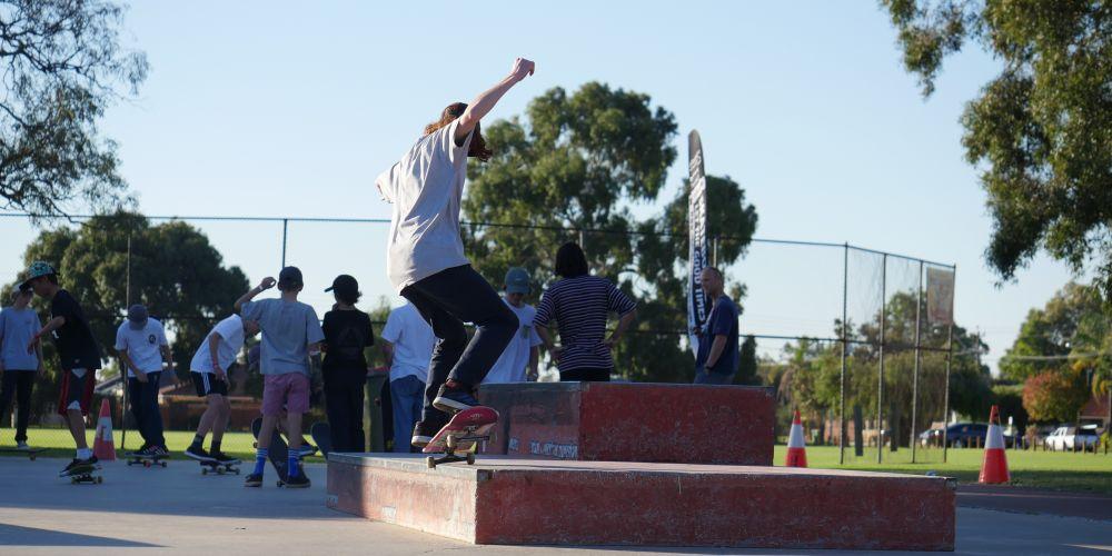 Picture: Skate Sculpture