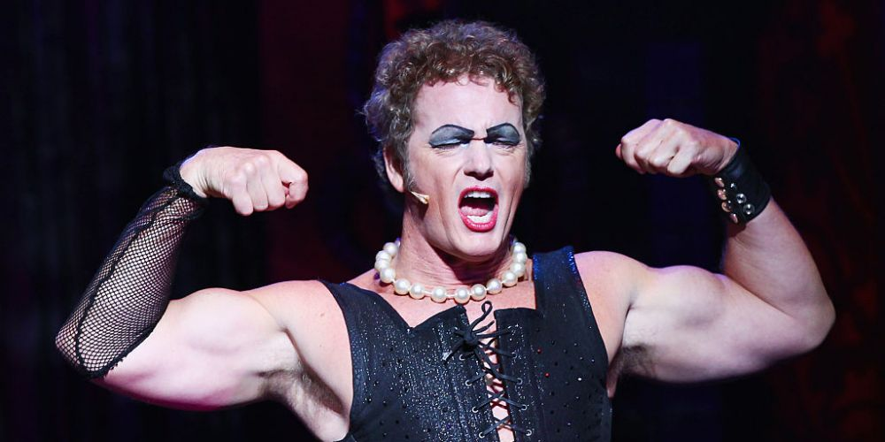 Craig McLachlan in the 2015 version of The Rocky Horror Show. Photo: Getty