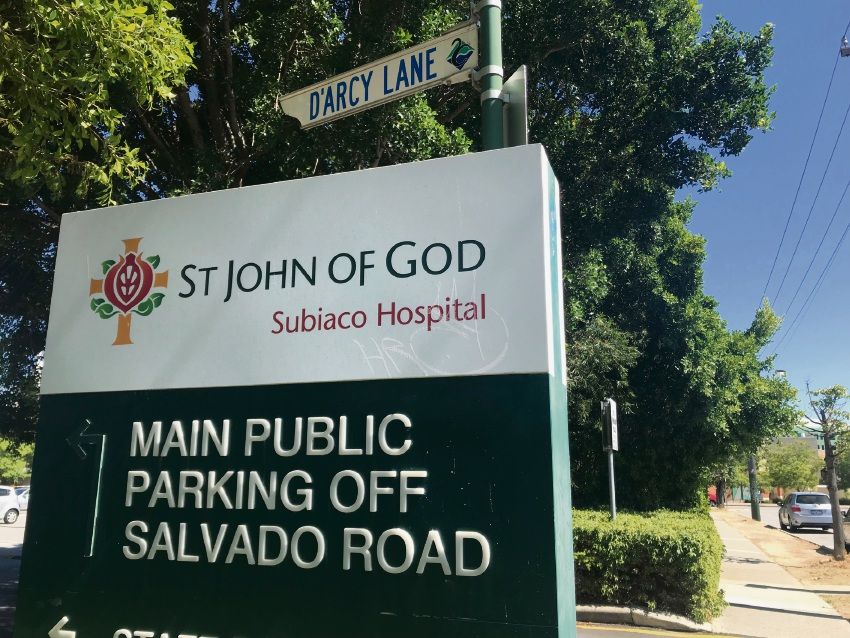 A carpark expansion at St John of God Subiaco Hospital has been approved by JDAP.
