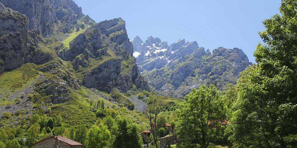 View of Picos de Europa National Park in Spain. Picture: JTB Photo/UIG via Getty Images.