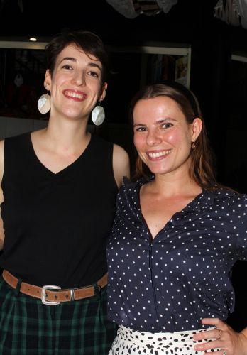 Rhiannon Petersen and Clare Testoni