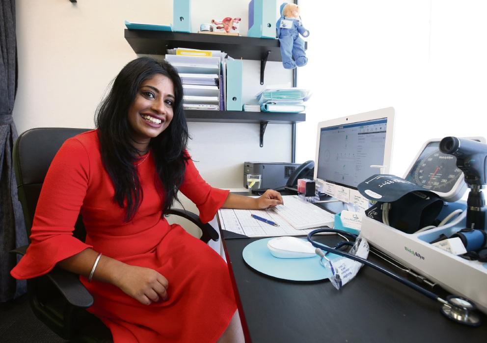 Rockingham doctor Christabel Samy.