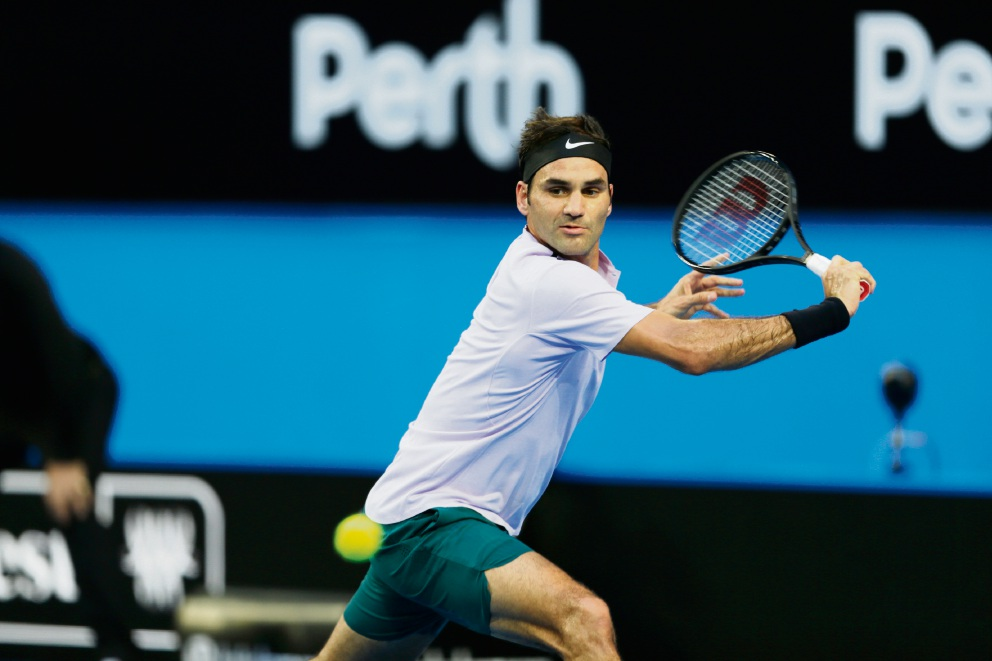Federer feels relaxed in first win at Hopman Cup 2018 at Perth Arena