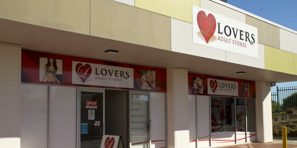 Lovers adult store in Clarkson.