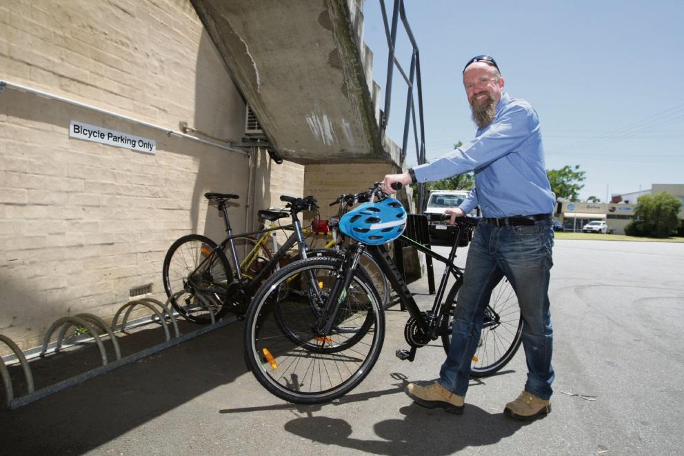 Nick Ashbrook from HS Sales. Picture: Bruce Hunt www.communitypix.com.au d478101
