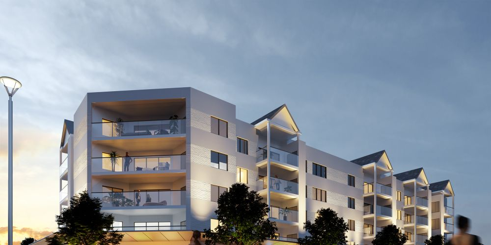An artist's impression of the proposed Mirrabooka development.