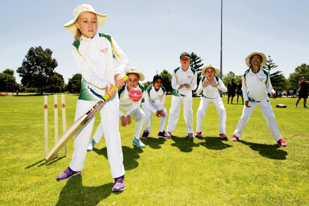 Tessa Horricks, Mia Wallis, Krittika Meghani, Lilly Ruegner, Jasmine Harries and Thanishka Nanthavarmani have enjoyed their debut season in the Perth Scorchers Girls League.