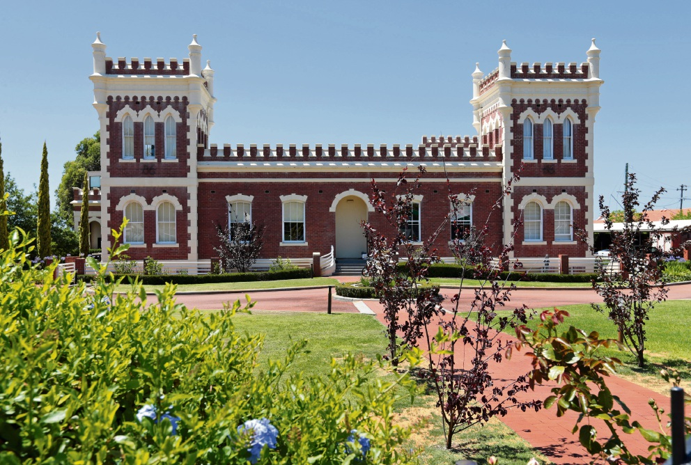 Albany Bell Castle, at 86 Guildford Road in Maylands. Picture: David Baylis www.communitypix.com.au d478135