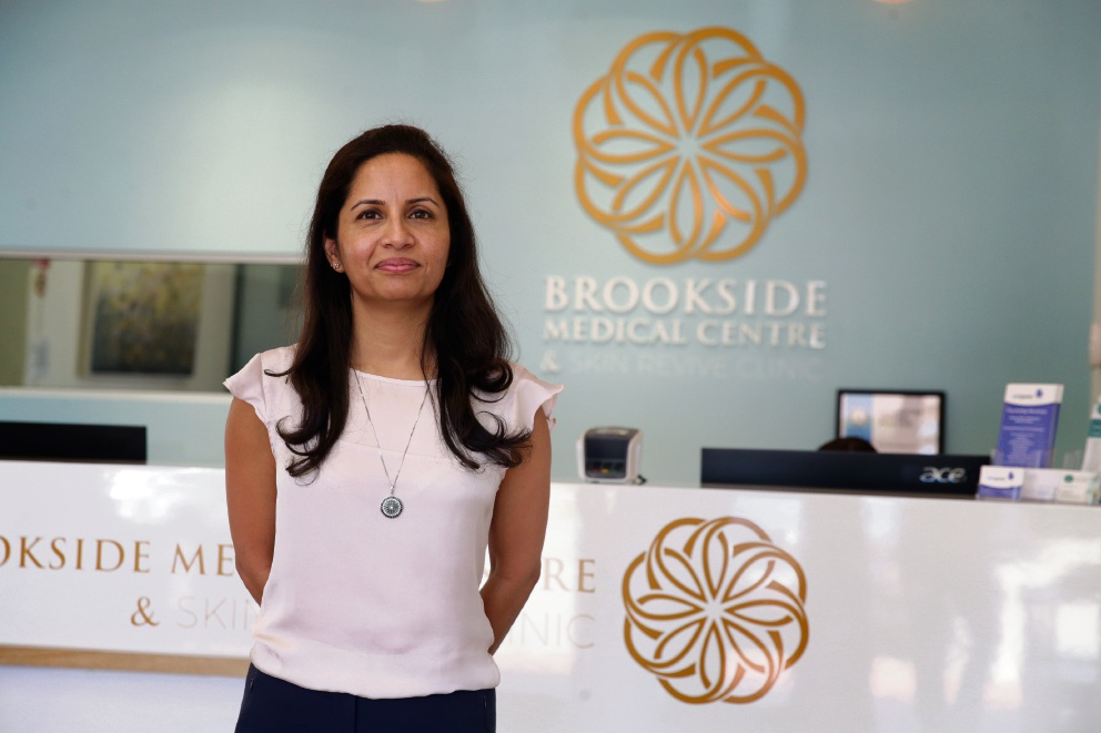 Dr Romi Ahluwalia from Brookside Medical Centre in Wanneroo. Picture: Martin Kennealey d477807