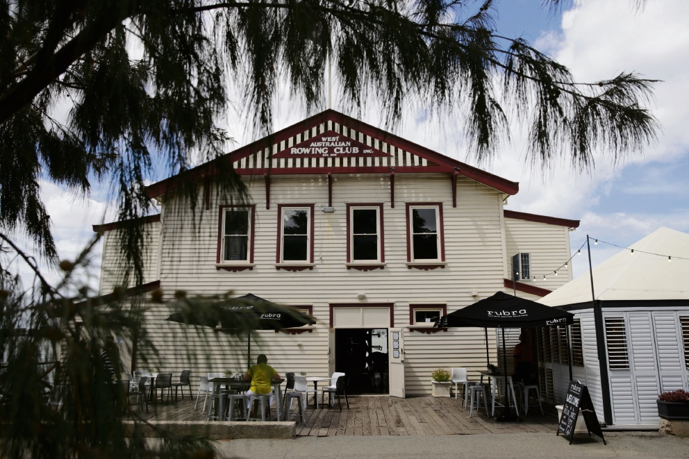 The WA Rowing Club is getting more than $80,000 for conservation of the roof, walls and flooring, ensuring the building remains safe and functional. Picture: Andrew Ritchie d478231