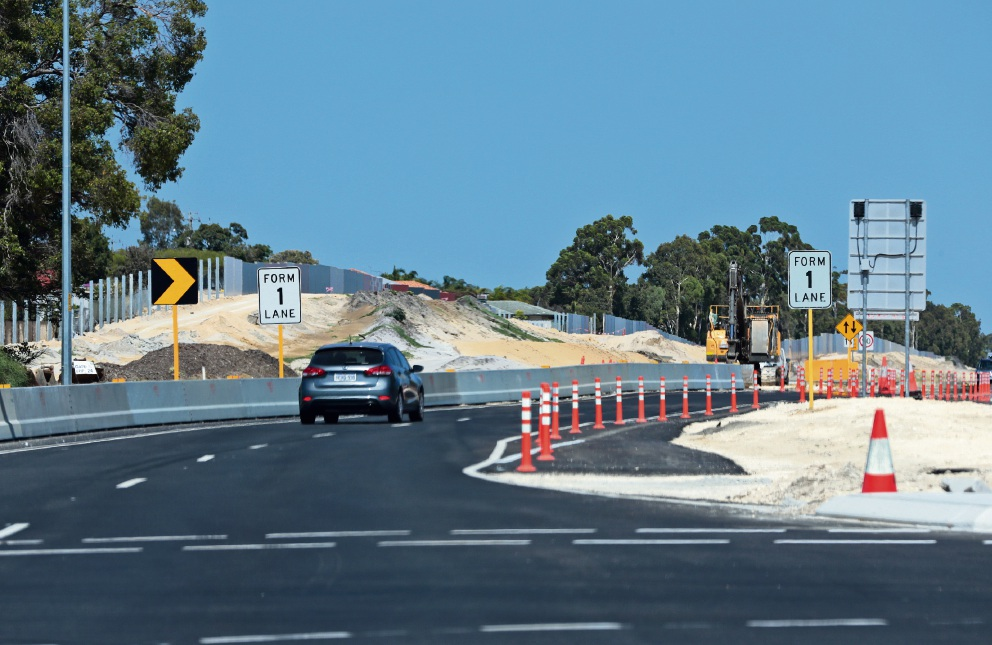 Roadworks taking place between Altone Road and Tonkin Hwy in Bennett Springs and Beechboro.