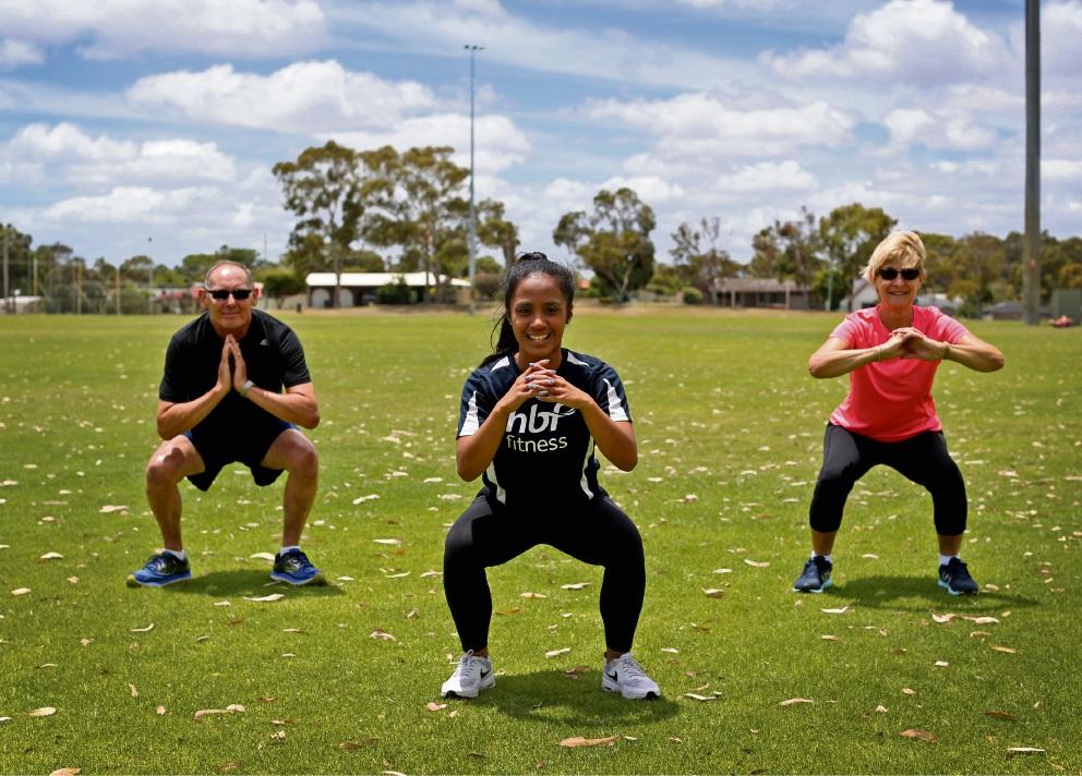 Fitness classes starting in Mandurah