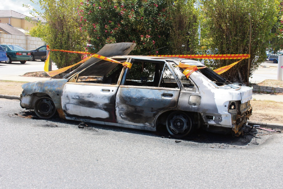 Bicton car fire: resident says suburb 'resembles the Bronx'