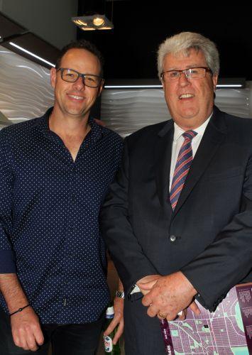 Wes Barrett and Bob Reinecke