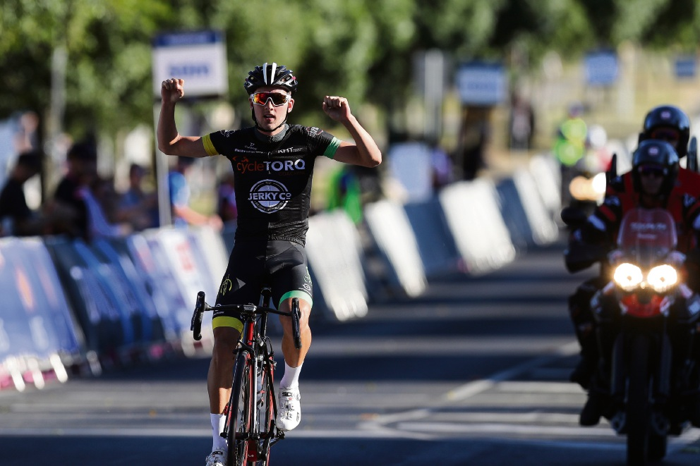 Under-19 road champion Tyler Lindorff. Picture: Cycling Australia
