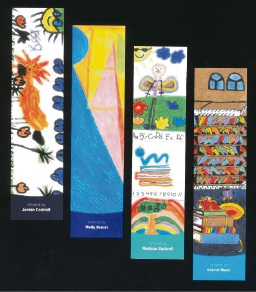 Winning entries of the 2017 City of Rockingham Libraries Junior Bookmark competition.