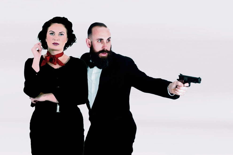 Charlie D Barkle and Erin Jay Hutchinson.