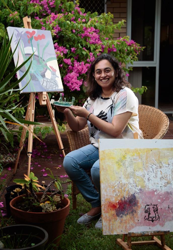 Shelley artist Manu Madan showcasing work in White Gum Valley