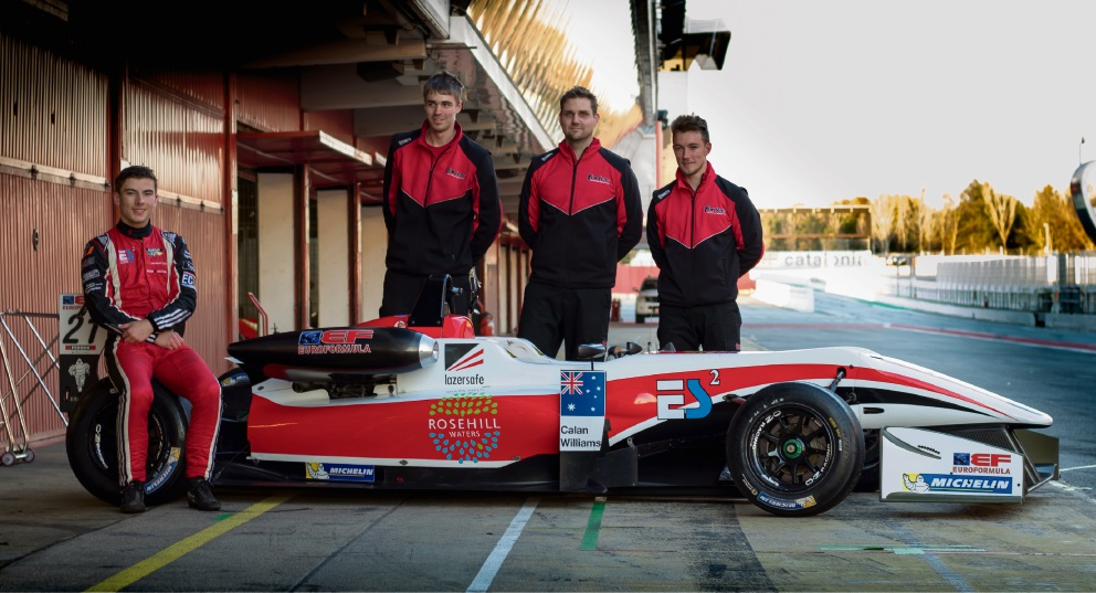 Edgewater teen Calan Williams to rev up international racing career at F3 Euroformula Winter Series
